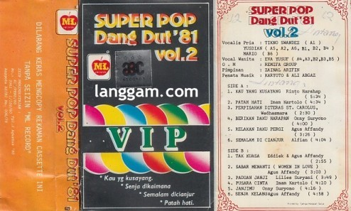 Super Pop Dangdut '81 Vol 2