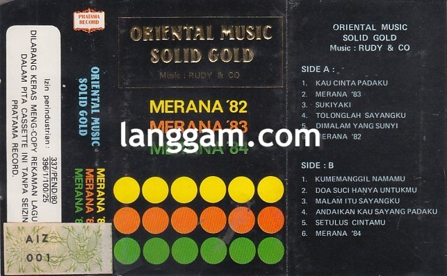 Oriental Music Solid Gold