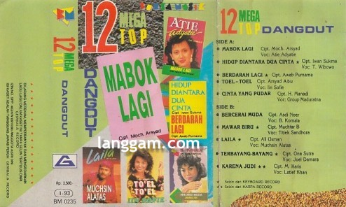 12 Mega Top Dangdut