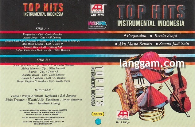 Top Hits Instrumental Indonesia