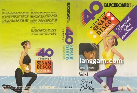 40 Nonstop Senam Disco Indonesia