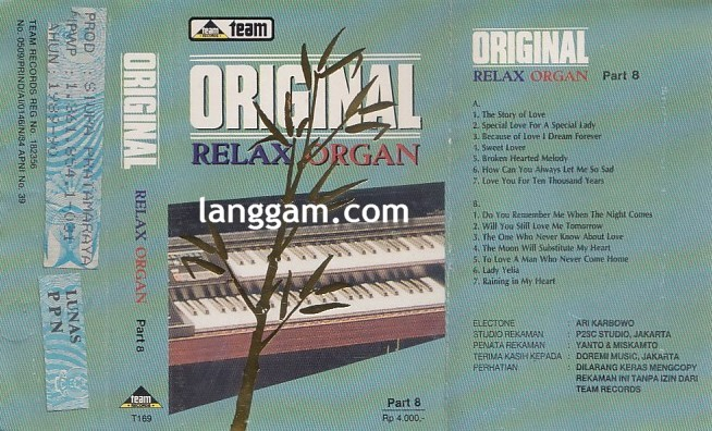 Original Relax Organ Part 8