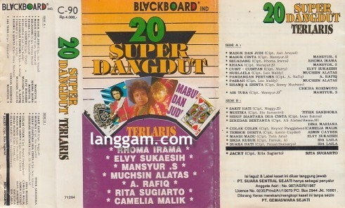 20 Super Dangdut Terlaris