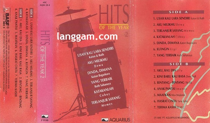 Hits of The Year 2 - Click Image to Close