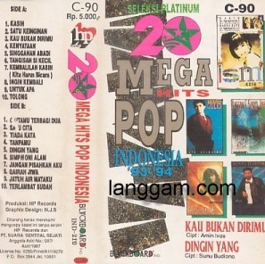 20 Mega Hits Pop Indonesia 93-94