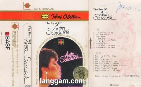 The Best Of Anita Sarawak