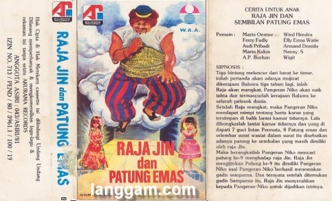 Raja Jin dan Patung Emas - Click Image to Close