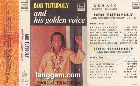 Bob Tutupoly and his golden voice