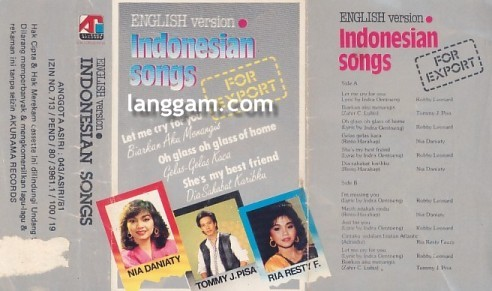 English Version Indonesian Songs