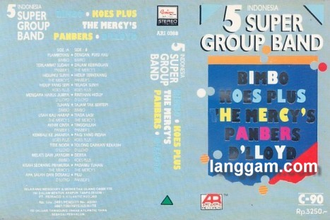 5 Indonesia Super Group Band Part 1