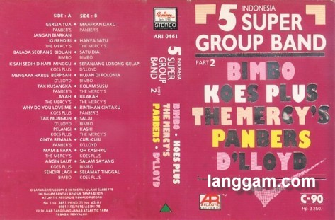 5 Indonesia Super Group Band Part 2