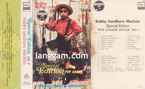 Special Edition Pop Anak-Anak Vol 1