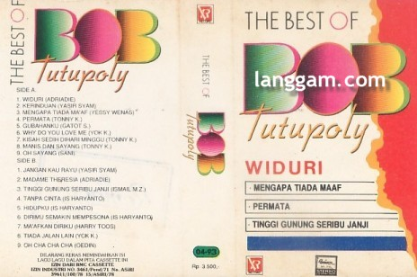 The Best of Bob Tutupoly