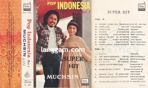 Pop Indonesia Volume 1 Super Hit