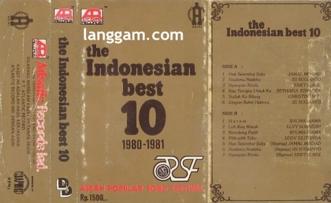The Indonesian Best 10 1980-1981 Asian Popular Songs Festival