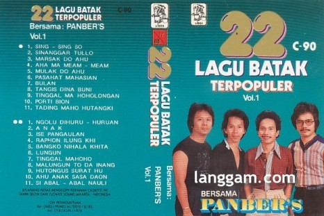22 Lagu Batak Terpopuler Vol 1 - Click Image to Close