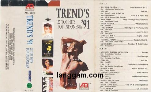 Trends 20 Top Hits Pop Indonesia '91