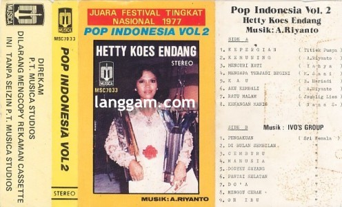 Pop Indonesia Vol 2