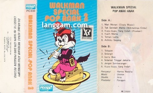 Walkman Special Pop Anak-Anak