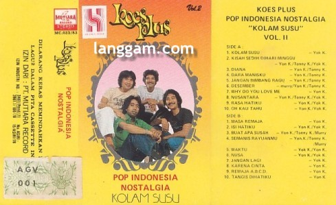"Pop Indonesia Nostalgia ""Kolam Susu"" Vol 2"