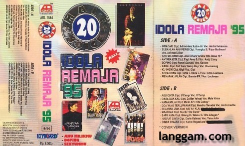 20 Male Voice Idola Remaja '95