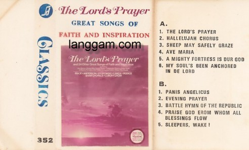 The Lord's Prayer - Great Songs of Faith and Inspiration