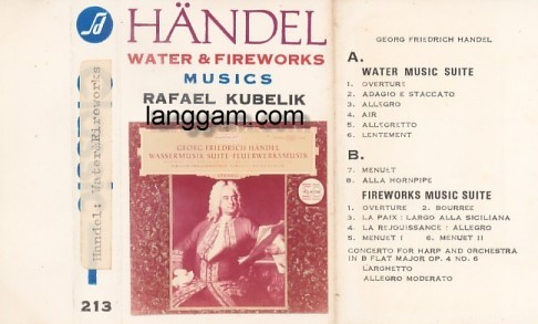 Handel - Water and Fireworks