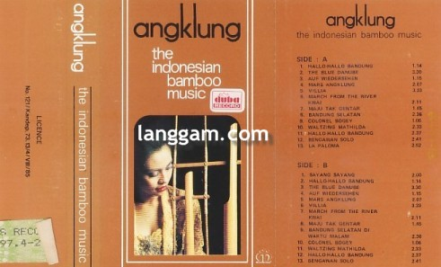 Angklung the Indonesian Bamboo Music