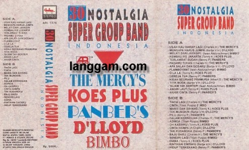 30 Nostalgia Super Group Band Indonesia