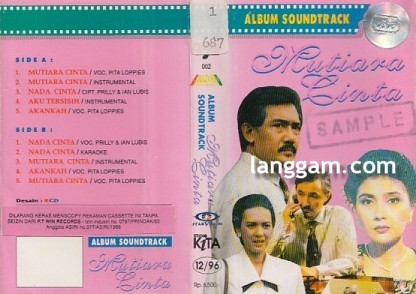 Album Soundtrack Mutiara Cinta
