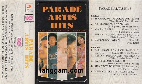 Parade Artis Hits