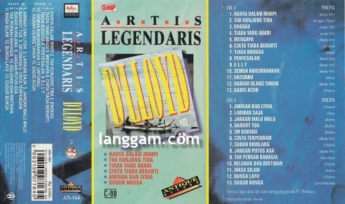 Artis Legendaris D'Lloyd