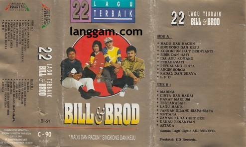 22 Lagu Terbaik Bill & Brod - Click Image to Close