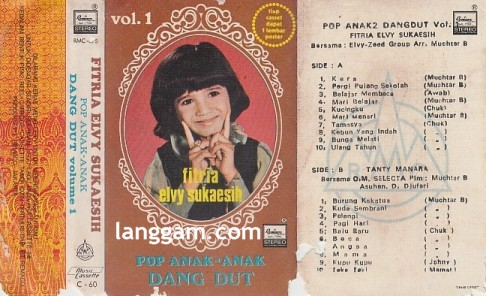 Pop Anak-anak Dangdut Vol 1