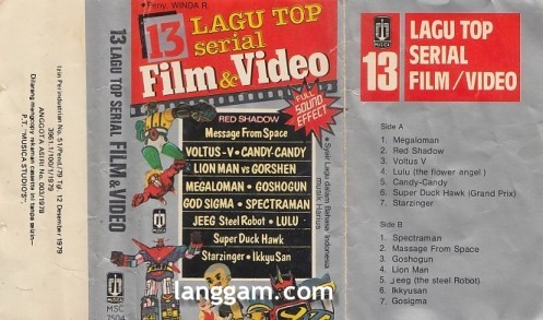 12 Lagu Top Serial Film & Video