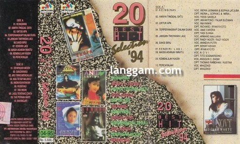 20 Best HIT Selection '94