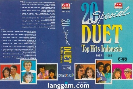 20 Spesial DUET Top Hits Indonesia 1987-1988