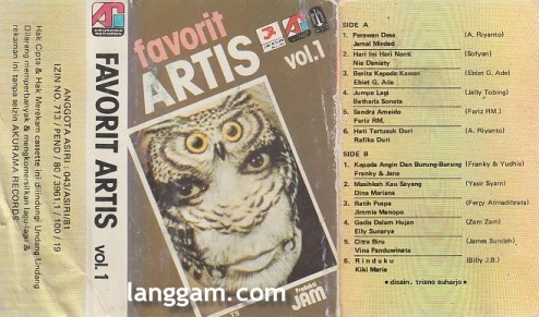 Favorit Artis Vol 1