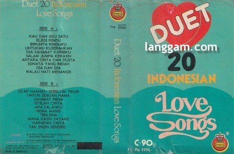 Duet 20 Indonesian Love Songs