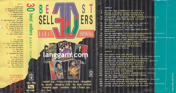 30 Best Sellers BARAT-INDONESIA