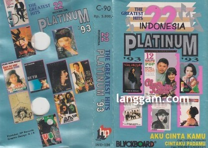 22 Indonesia The Greatest Hits Platinum '93