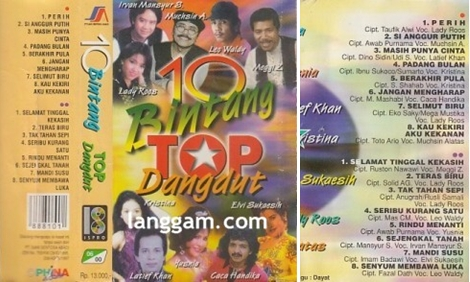 10 Bintang Top Dangdut