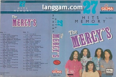 27 HITS MEMORY The Mercy's